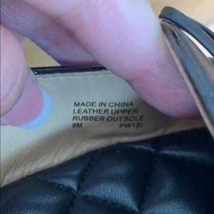 Michael Kors Shoes - Michael Kors Black flats loafers Size 9 EUC